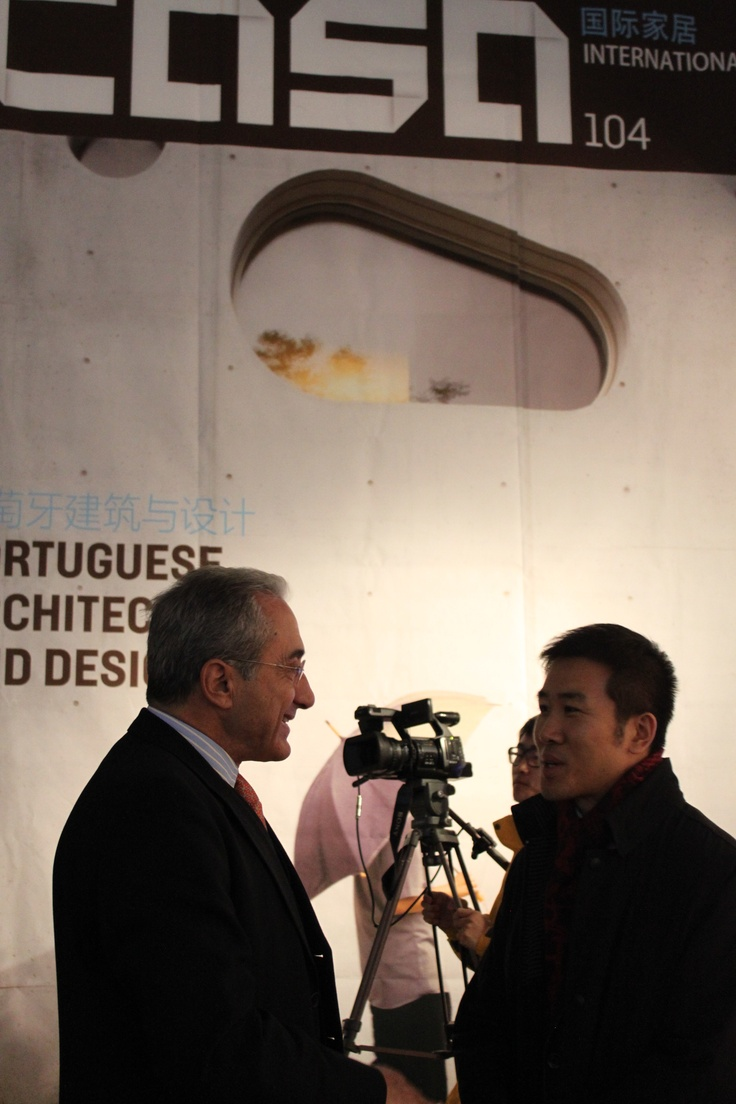 Casa Portuguese Architecture and Design issue 104 presentation, Artkey Gallery, Beijing. - Interview to the Portuguese Ambassador in China - China International TV