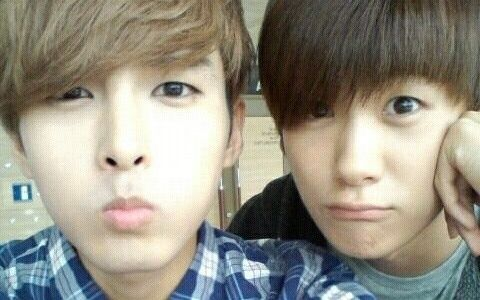 my lovelies Heechul and Hyungsik of ZE:A