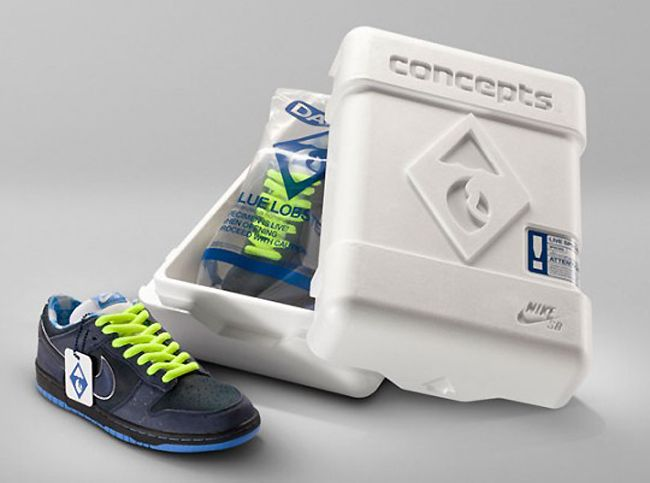 Blue Concepts x Nike SB Lobster Dunk Low Premium