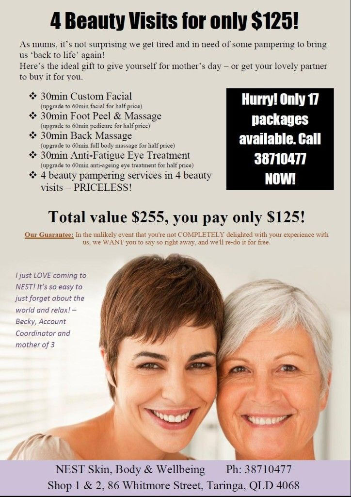 13 best salon marketing templates mothers 39 day images on - Salon marketing digital ...