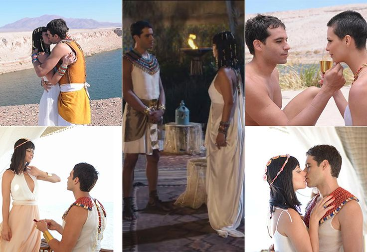 Moisés e Nefertari terminam o noivado! Reveja os momentos românticos do casal - Fotos - R7 Os Dez Mandamentos