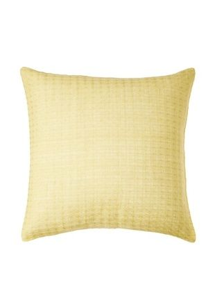78% OFF Vera Wang Modern Ikat Pillow, Citron