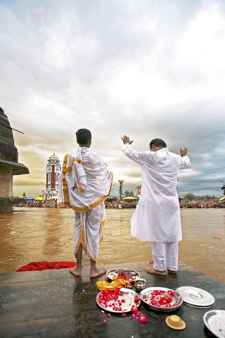 Ganga Aarti, Haridwar, India