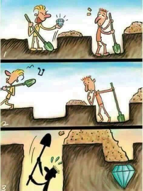 Focus on you Don't judge based on how others do things Find what's right for you and follow that