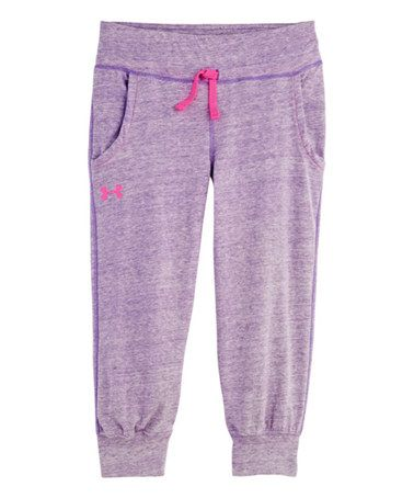Look what I found on #zulily! Pride Tri-Blend Capri Sweatpants - Girls by Under Armour® #zulilyfinds