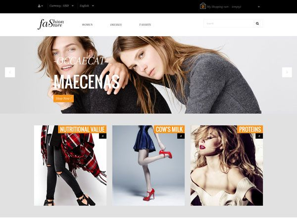 Pts Fashion Store PrestaShop Theme