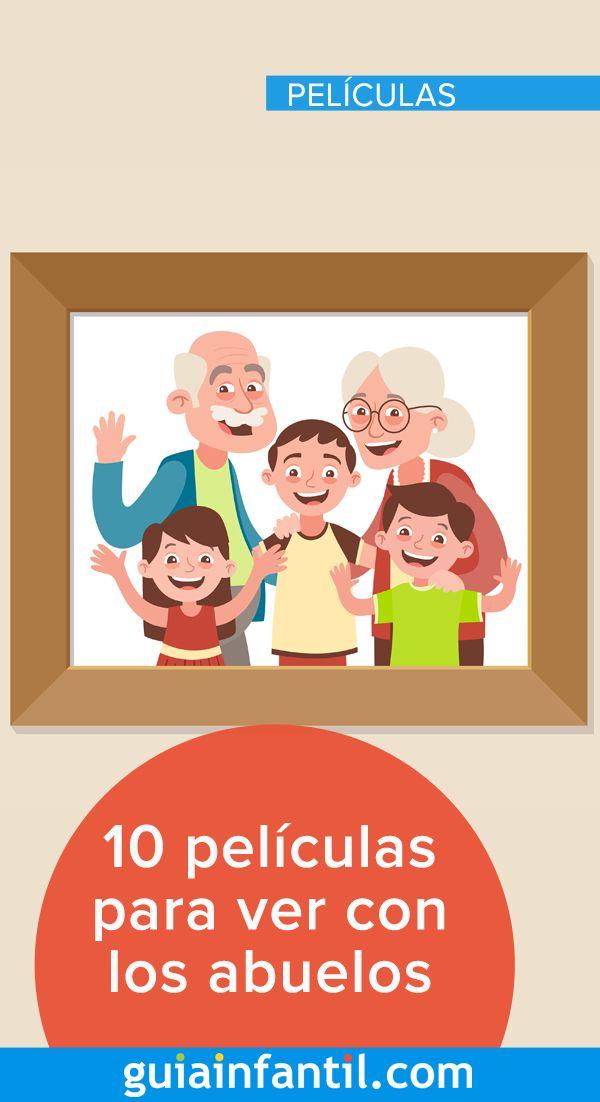 10 Películas Infantiles Para Ver Con Los Abuelos Cine Para Niños Peliculas Películas Infantiles