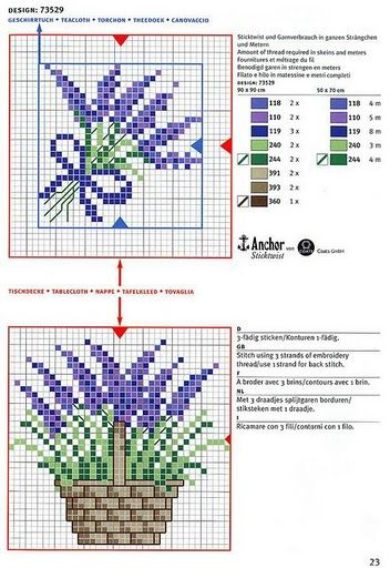 Χειροτεχνήματα: Λουλούδια σταυροβελονιά (cross stitch flowers )                                                                                                                                                      More