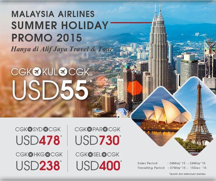 Promo tiket pesawat Malaysia airlines