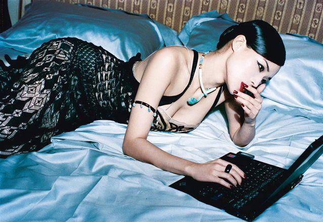 Taiwanese actress Shu Qi. (Photo by Ellen von Unwerth)
