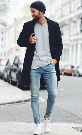 Light denim. Shop this look at The Idle Man #StyleMadeEasy