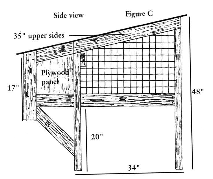 outdoor rabbit hutch plans pdf