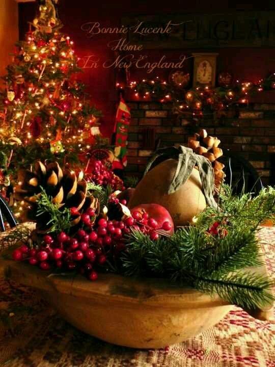 114 best Primitive Christmas images on Pinterest Christmas ideas - primitive christmas decorations