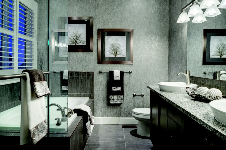 The Perfect Bathroom To Pamper Yourself After A Long Day Mattamy 39 S Devon Model In Lakepointe