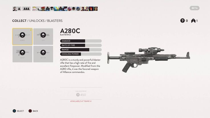 Star Wars: Battlefront UI- clean and minimalist perfection, or mobile UI blandness? - NeoGAF