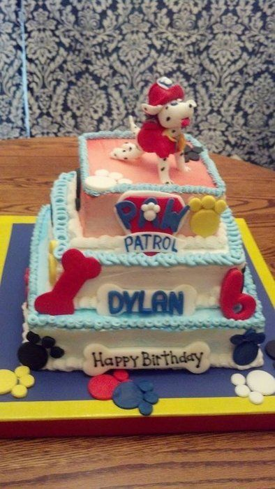 paw patrol cake by sweet shop