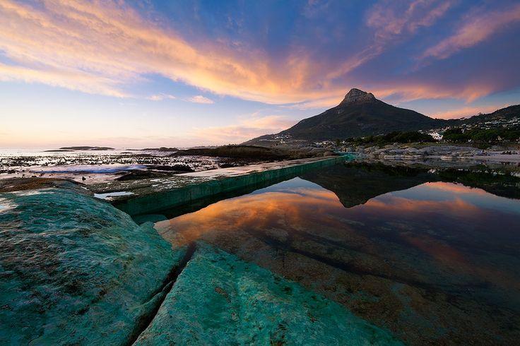 Camps Bay Beach in iKapa, Western Cape
