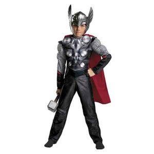 Θωρ στολή για αγόρια θεός Thor του κεραυνού και της αστραπής