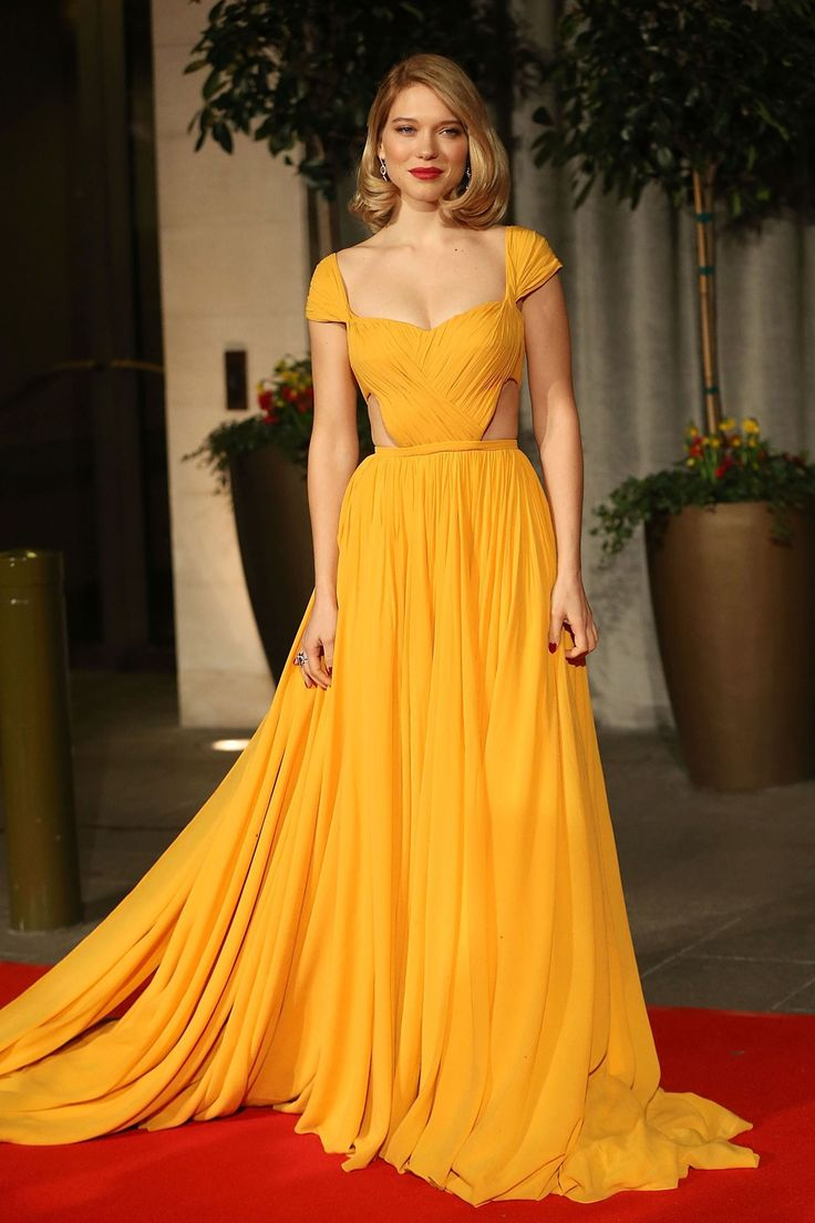 Red Carpet Dressing: Yellow Dresses Trend (Vogue.co.uk)