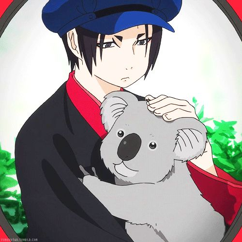 Hoozuki no Reitetsu ~~ Even badasses can have a softer side.