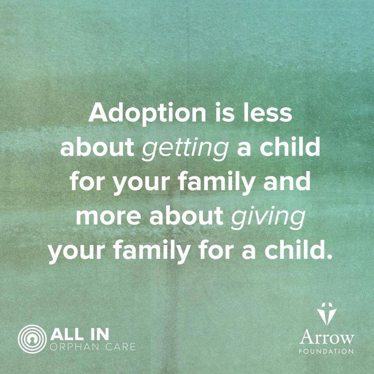 #Adoption means the world to a child in need.
