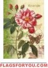 Vintage Rose Garden Flag