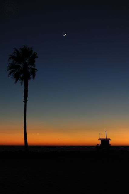 The perfect picture of relaxation is a Santa Monica sunset, wouldn't you agree?