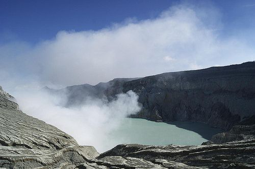 Ijen Crater, East of Java - Indonesia #Mountain #Crater #Sulphur #Nature #Indonesia