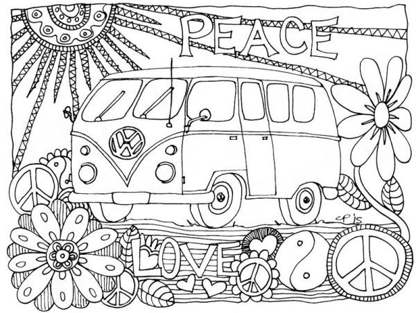 Vw Bus Coloring Pages Printable Free Coloring Sheets Coloring Pages Coloring Books Coloring Book Pages