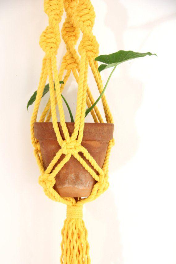 Kit de suspensión de planta de macramé