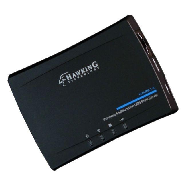 Hawking Wireless Multifunction USB Print Server #HMPS1A