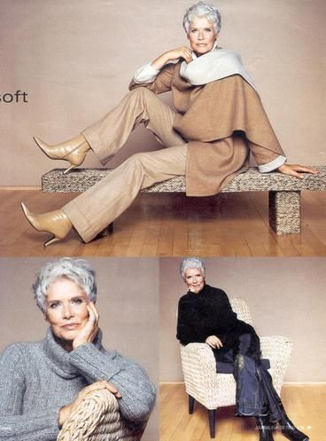 Grace and class, never go out of style. The absence of color works neutral tones worn with confidence.