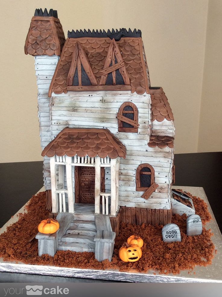 Your Cake. Tarta fondant Halloween                                                                                                                                                                                 Más