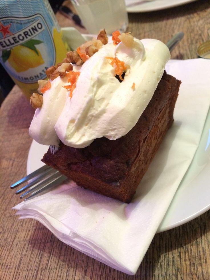 Carrot Cake, Foxcroft & Ginger, Soho