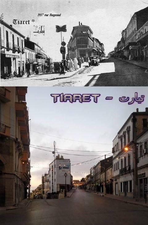 rue bijou et rue michelet tiaret