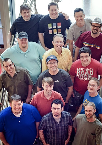 MODX - Featured in an article on Dallas Start-ups in Entrepreneur Magazine, those are my boyz!!