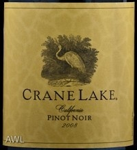 i am a huge pinot noir drinker and this wine was actually as good as some $20 pinot's that ive had. At $4 its a steal!!!        Read more: http://www.snooth.com/wine/crane-lake-pinot-noir-2010/#ixzz1WYLlgvEM