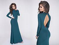 Вечернее платье Madlen зеленое