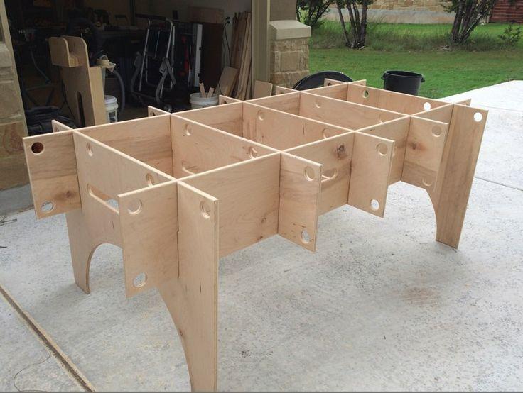 (1) Cutting/work table