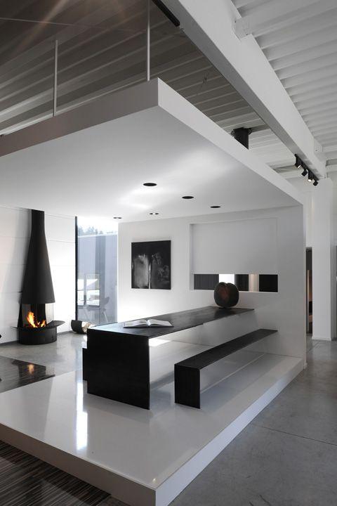 "showroom | ""dossin cheminèes"" | namur, belgium | by bureau 5."