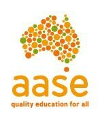 Australian Association of Special Education.  Information for students with special needs. http://www.aase.edu.au/