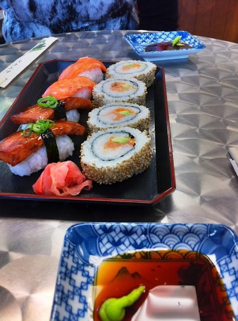 Best sushi in Hawke's Bay is at Aozora Sushi in Ahuriri.