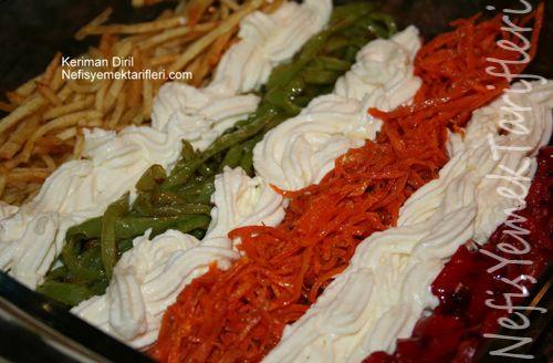 renkli meze: Food, Renkli Meze, Turkish Recipes, Meze Tarifi