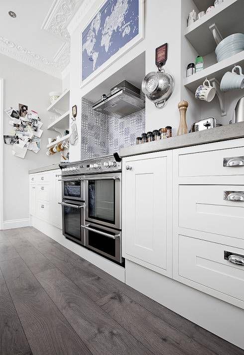 Eure Küche günstig einrichten! Diese klassisch Küche ist von William Gaze Ltd #küche #kitchen #homify