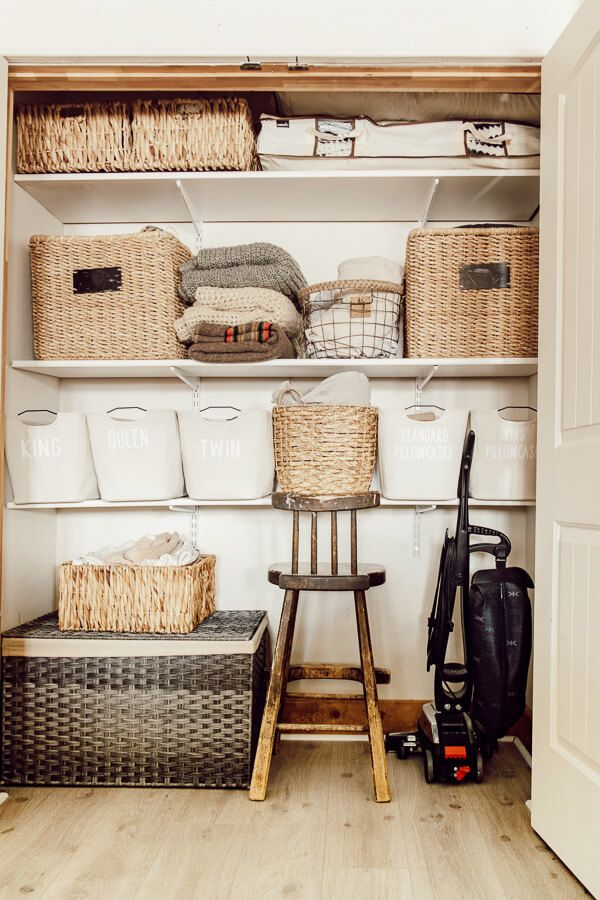Linen Closet Organization Tips And Tricks Closet Hacks Organizing Linen Closet Linen Closet Organization
