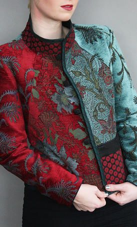 Mary Lynn O'Shea: Designer | Weaver | Essex Jacket - check up on this site: beautiful and charming jacketsand coats