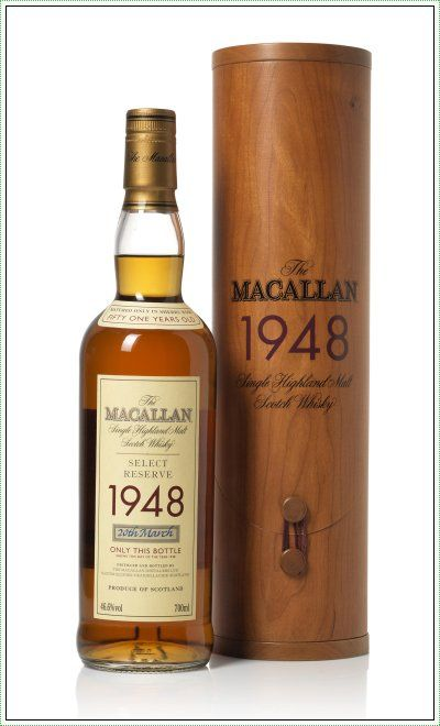 The Macallan 1948 Single Highland Malt Scotch Whisky Select Reserve #whisky