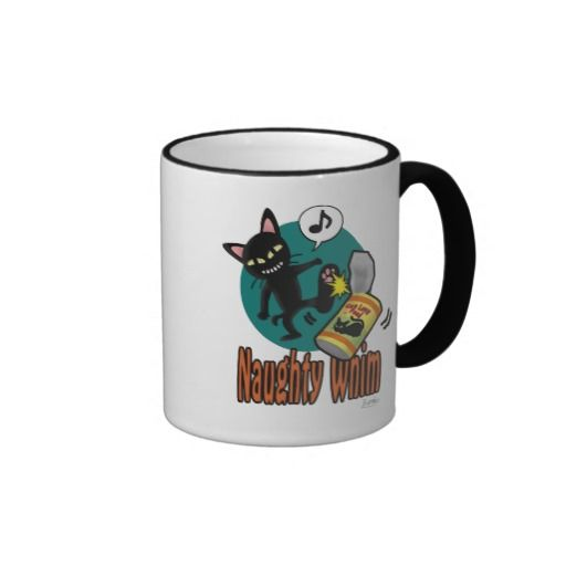 Naughty Whim Ringer Mug by BATKEI