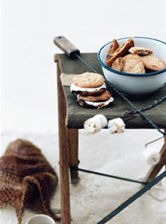 chocolate and oat s'mores