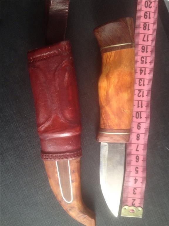 Handgjord kniv på Tradera.com - Jaktknivar och jaktverktyg | Jakt |